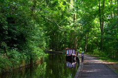 Llangollen kanal Royaltyfri Foto