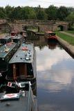 Llangollen Kanal Stockbilder