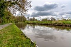 Llangollen-Kanal, nahe Ellesmere, Shropshire, England, Großbritannien stockfoto