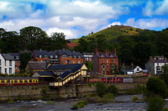 Llangollen Preserved Railway Station Stock Image