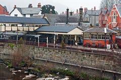 Llangollen railway station, Denbighshire, Wales, UK. Stock Images