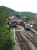 Llangollen railway Royalty Free Stock Photos