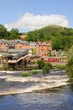 Llangollen Town North Wales Stock Photo