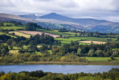 Llangorse lake Stock Photos