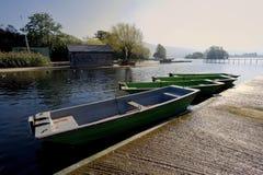 Llangorse lake Stock Photo