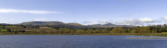 Llangorse lake Stock Image