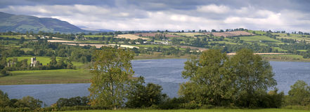 Llangorse lake Royalty Free Stock Photo