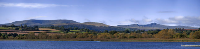 Llangorse lake Royalty Free Stock Image