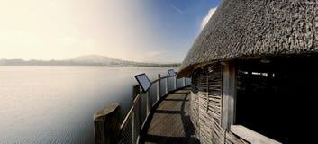 Llangorse lake Royalty Free Stock Photos