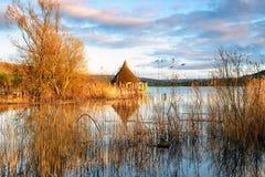Llangorse Lake Royalty Free Stock Images