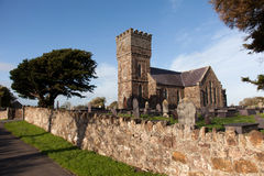Llanidan New Church stock photography