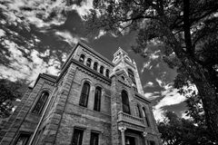Llano Courthouse, Llano TX Stock Photography