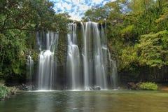 Llano de Cortes vattenfall HDR Royaltyfria Bilder
