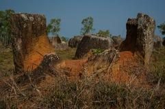 Llano de tarros Fotografía de archivo