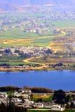 Llano del lago Imagen de archivo