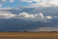 Llano momentos antes de la tormenta Imagen de archivo libre de regalías