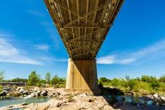 Llano Texas Bridge arkivbilder