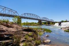 Llano Texas Bridge imagem de stock royalty free