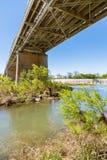 Llano Texas Bridge fotografia de stock royalty free