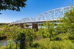 Llano Texas Bridge photographie stock