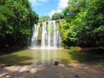 Llanos De Cortez Waterfall Stockbild