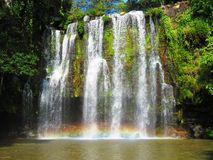 Llanos de Cortez Waterfall Immagine Stock