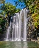Llanos De Cortez Waterfall lizenzfreie stockbilder