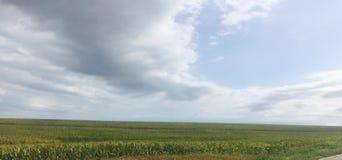 Llanos de Iowa Foto de archivo libre de regalías