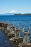 Llanquihuemeer - Puerto Varas - Chili stock fotografie