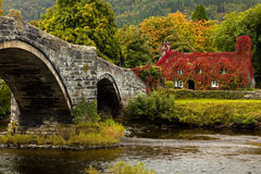 LLanrwst Wales Stock Photo