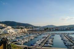 Llansa port Obraz Royalty Free