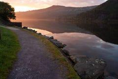 Llansberis lake Royalty Free Stock Photography
