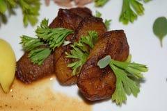 Llantenes fritos Foto de archivo libre de regalías