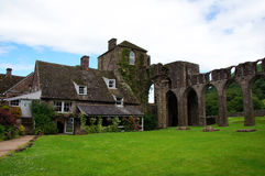 Llanthony priory in Brecon Beacons Royalty Free Stock Images