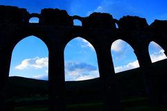 Llanthony priory in Brecon Beacons Royalty Free Stock Photography