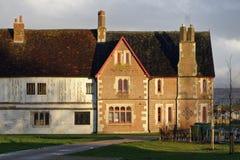 Llanthony Secunda Priory, Gloucester images stock