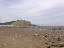 Llantwit Major - Beach. Wonderful beach in Llantwit major Stock Image