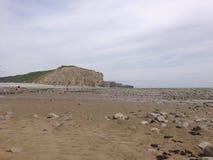Llantwit Ważny - plaża Obraz Stock