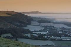 Llanuras del sur Sussex fotografía de archivo