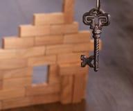 Llave de la casa Imagen de archivo