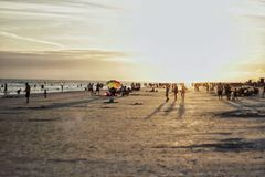 Llave de la siesta de Thisisnativeflo, puesta del sol de FL Imagen de archivo