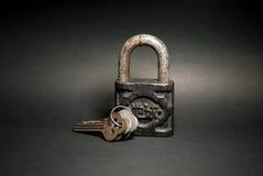Llave de viejo maestro Fotografía de archivo libre de regalías