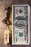 Llave del dinero Imagen de archivo