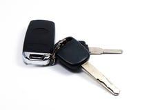 Llave electrónica del coche de la seguridad Fotos de archivo libres de regalías