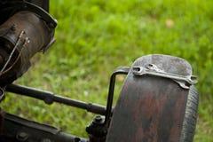 Llave inglesa de la máquina, mecánicos Foto de archivo