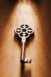 Llave a las llaves Imagen de archivo libre de regalías
