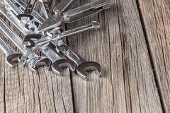 Llave, llave de trabajo, metal de la llave, sistema de llaves, reparación, t Fotografía de archivo libre de regalías