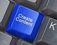 Llave para la creación del contenido imágenes de archivo libres de regalías