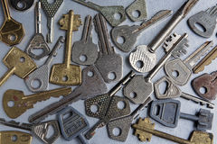 Llaves Imagen de archivo libre de regalías