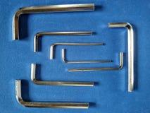 Llaves de hex. Fotografía de archivo libre de regalías